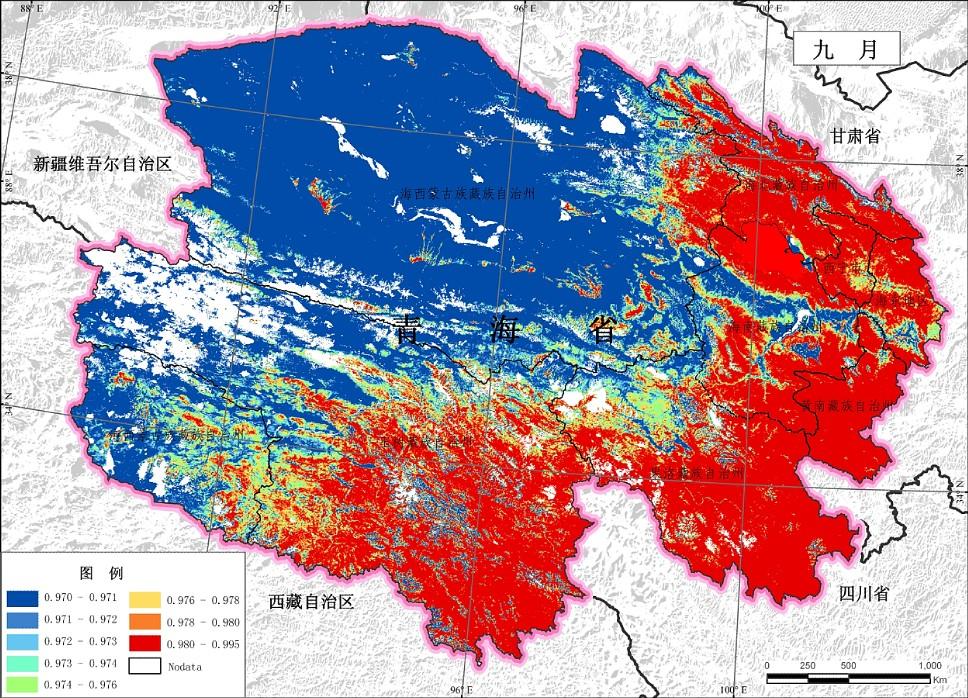 生态环境6青海省2010年9月地表比辐射率.jpg